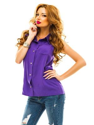 Рубашка фиолетовая   4655343