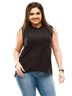Блуза черная | 4770556
