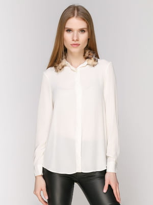 Блуза молочного цвета   4874273