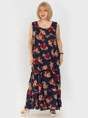 Сукня в квітковий принт | 4962322