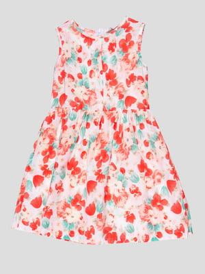 Платье в цветочный принт | 4676821