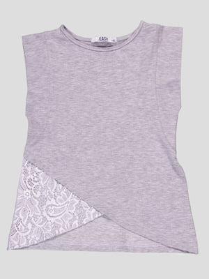 Блуза сіра   4676812