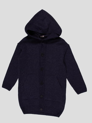 Пальто темно-синє | 4397165
