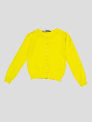 Кофта лимонного цвета | 4676835