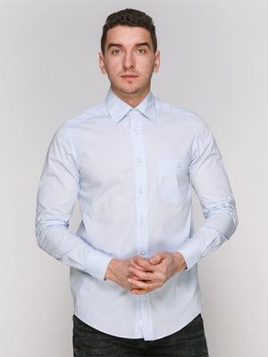 Рубашка голубая | 4854848