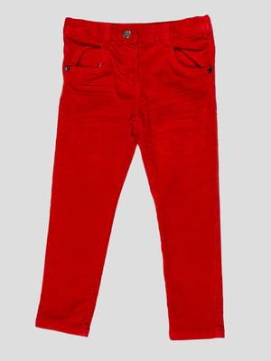Штани червоні | 4396963