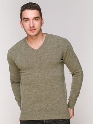 Пуловер темно-зеленый | 4906969
