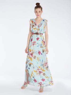 Сукня бірюзова | 4965484
