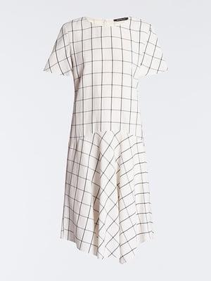 Сукня біла в клітку | 4965559