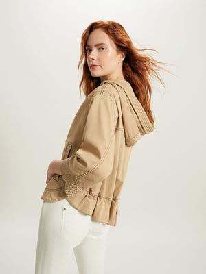 Куртка бежевая | 4965599