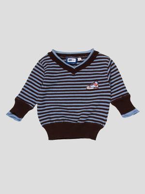 Пуловер в смужку | 4396786