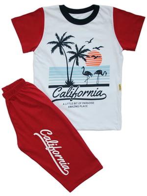Комплект: футболка і шорти | 4327005