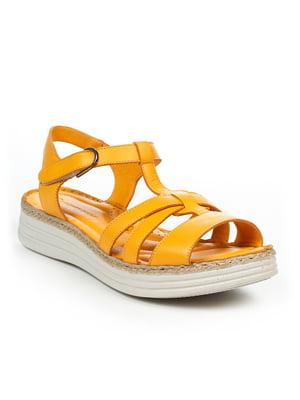 Сандалии желтые | 4914959