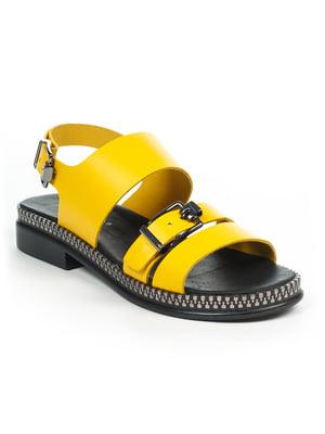 Сандалії жовті | 4914953