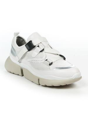 Кросівки біло-сріблясті | 4915187
