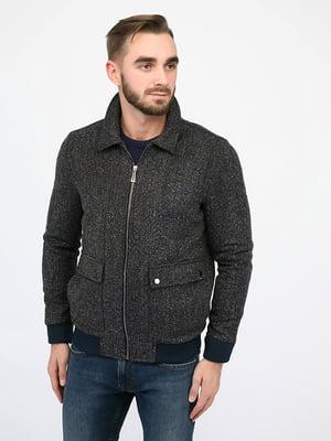 Куртка сіро-синя | 4970411