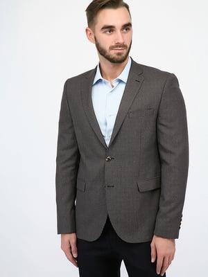 Пиджак серо-коричневый | 4970418