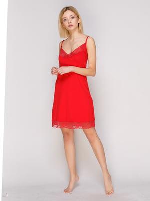 Сорочка нічна червона | 2229334