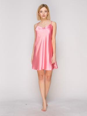 Сорочка нічна рожева | 3140018