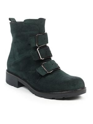 Ботинки темно-зеленые | 4917481