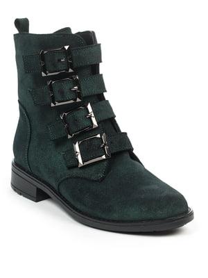 Ботинки темно-зеленые | 4917480