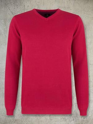 Пуловер красный | 4827278