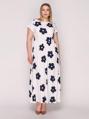 Сукня біла в квіти | 4950642