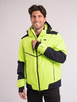 Куртка салатового кольору | 4970840