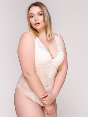 Блуза-боди молочного цвета | 4697178