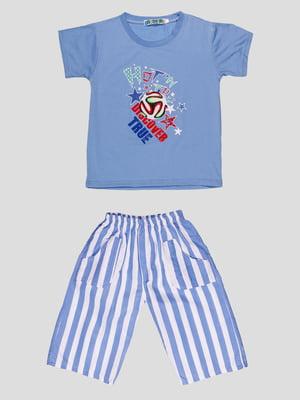 Комплект: футболка и шорты   4948650