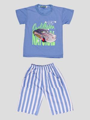 Комплект: футболка и шорты   4948647