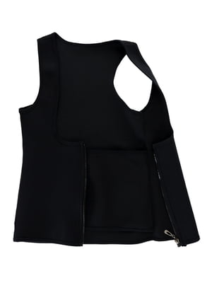 Фітнес-корсет чорний для схуднення | 4971229