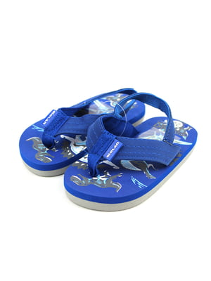 Сандалии синие   4965272