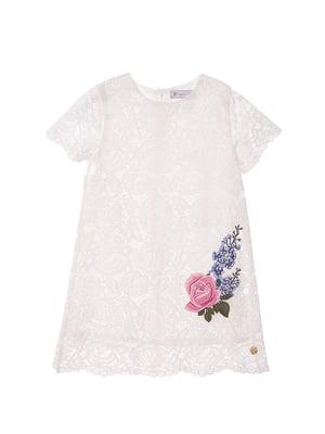 Сукня біла з вишивкою | 4971346