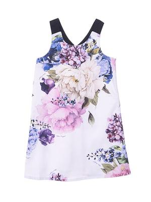 Сукня в квітковий принт | 4971347