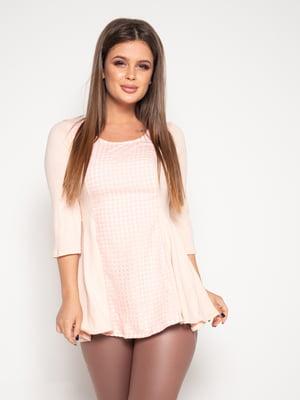 Блуза персикового кольору | 4870821