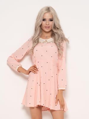 Сукня рожева в горошок | 4971192