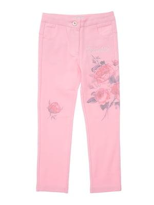 Брюки розовые | 4971352