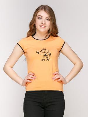 Футболка помаранчева  | 4931755