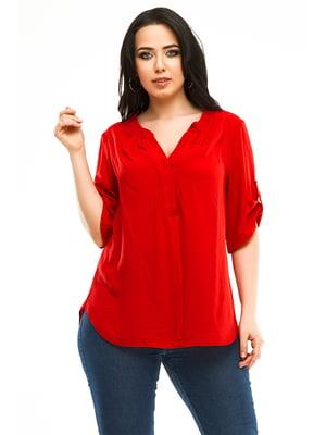 Блуза червона | 4973520