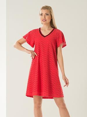 Платье красное   4224149