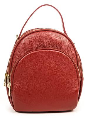 Рюкзак темно-красный | 4919034