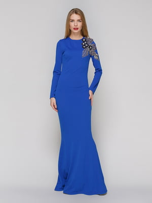 Сукня кольору електрик | 4911118