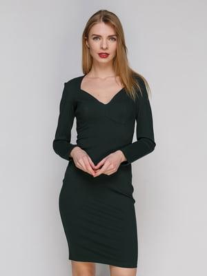 Сукня темно-зелена | 4910950