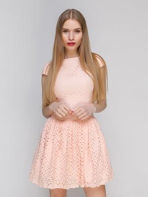 Сукня персикового кольору | 4911112