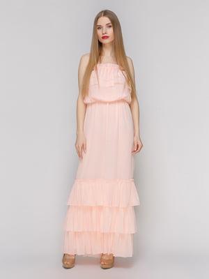 Сукня персикового кольору | 4910696