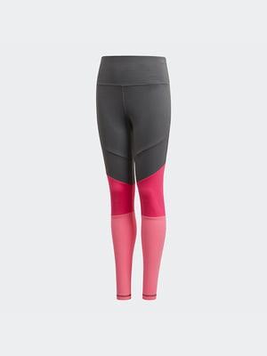 Легінси сіро-рожеві | 4886191
