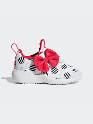 Кросівки білі в принт | 4886223