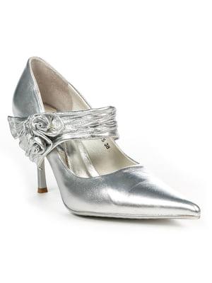 Туфли серебристые | 4948063