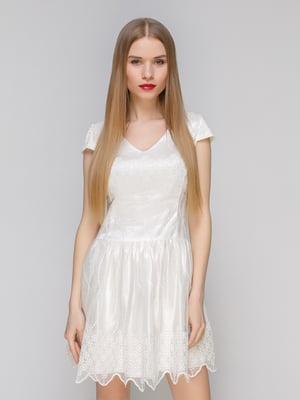 Сукня молочного кольору | 4911115